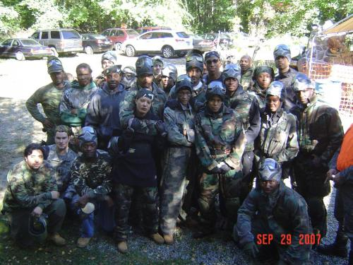 Paintball Group 2007