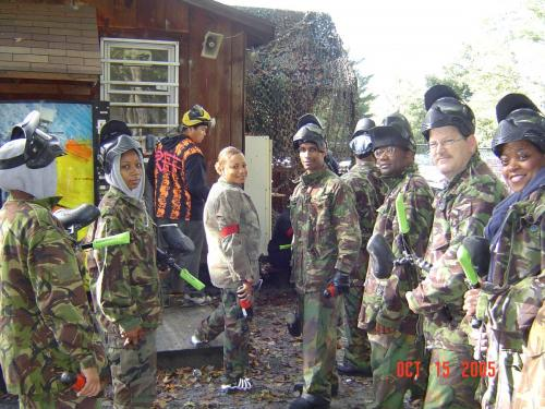 Paintball I ~ Oct 2005